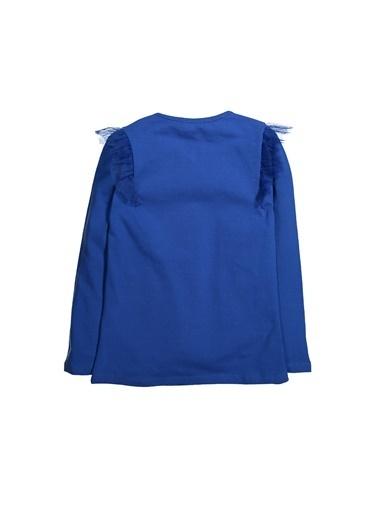 Zeyland Tül Fırfır Detaylı Baskılı Bluz (5-8yaş) Tül Fırfır Detaylı Baskılı Bluz (5-8yaş) Lacivert